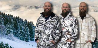 snöcamouflagekläder