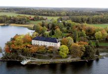 Klappjakt på Grönsöö slott