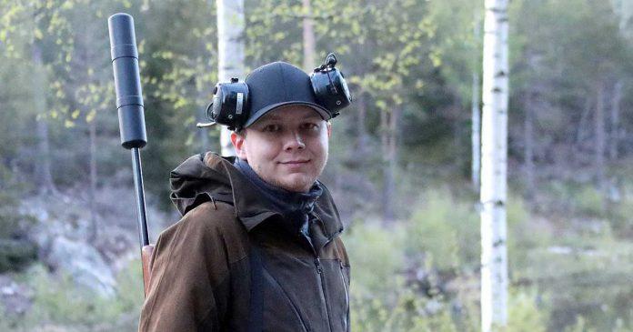 Anders Andersson jagar vildsvin
