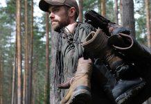 Test av jaktkängor, kängor